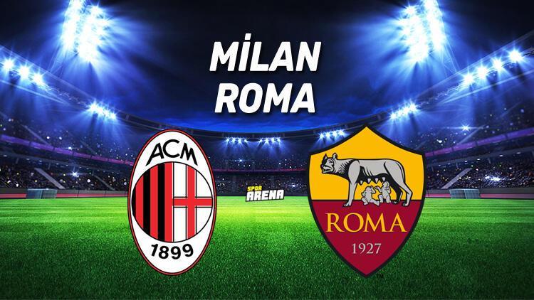 Milan Roma maçı saat kaçta hangi kanaldan canlı yayınlanacak
