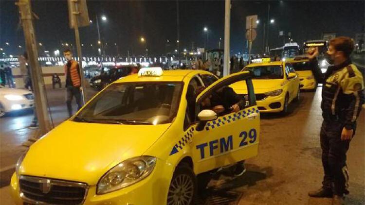 Kurallara uymayan taksicilere ceza yağdı