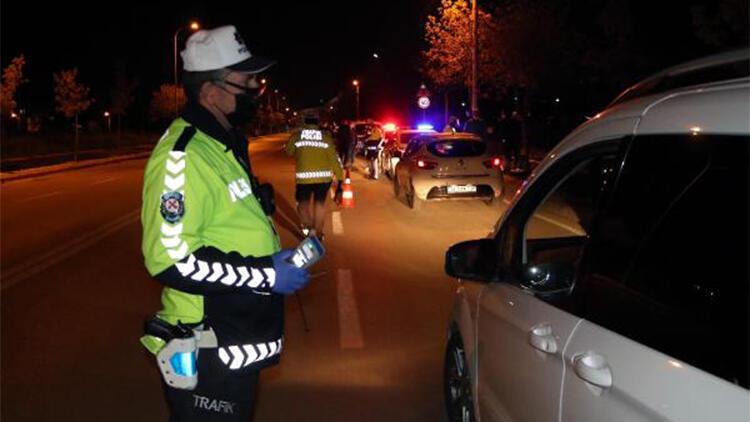 Eskişehir'de 158 sürücüye, 137 bin 781 lira ceza