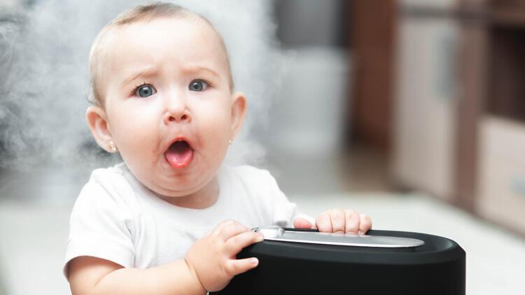 Bebek odalarında buhar makinesi bulunmalı mı?