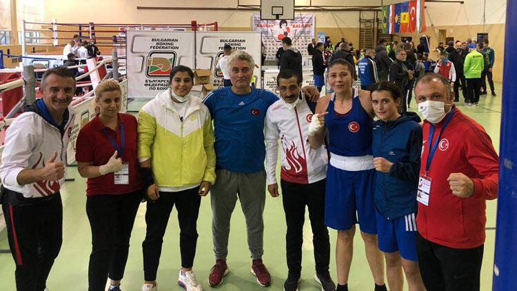 Olimpik Kadın Boks Milli Takımı, Uluslararası Balkan Turnuvasında 3 madalya aldı