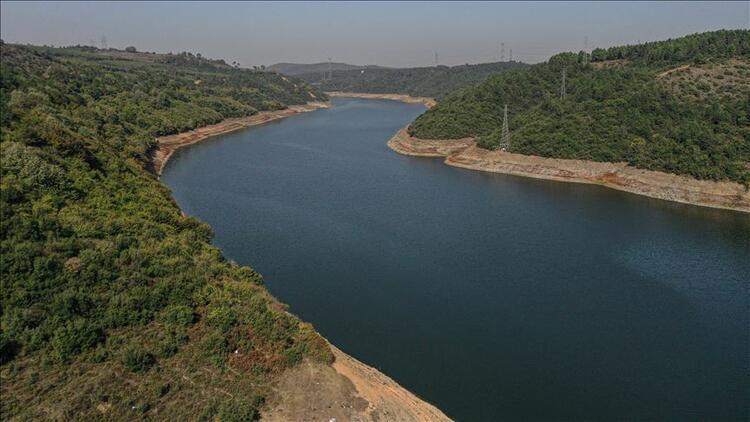 İstanbulun barajlarında doluluk oranı yüzde kaç İşte son gelen veriler