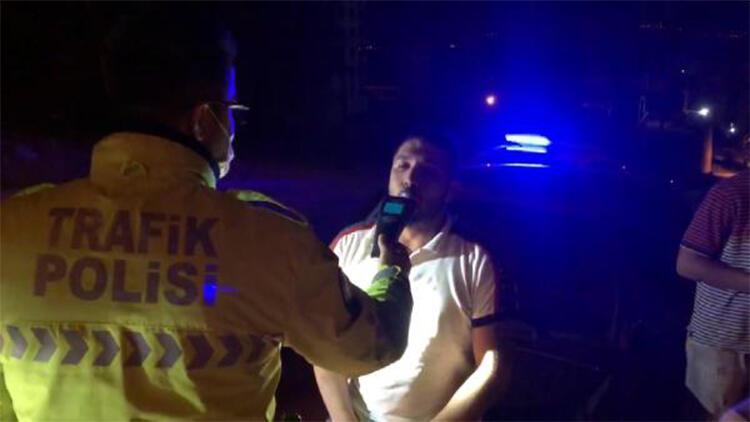 Alkollü ve ehliyetsiz sürücü kovalamaca sonucu yakalandı