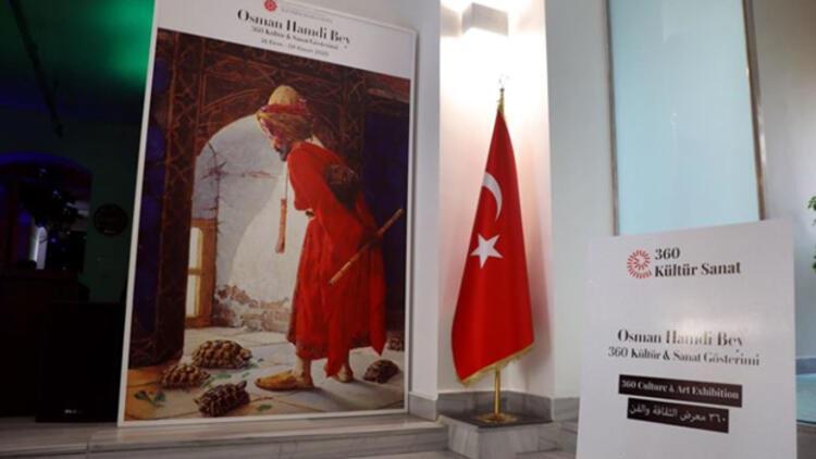 'Osman Hamdi Bey Dijital Sergisi' sanatseverlerle buluştu