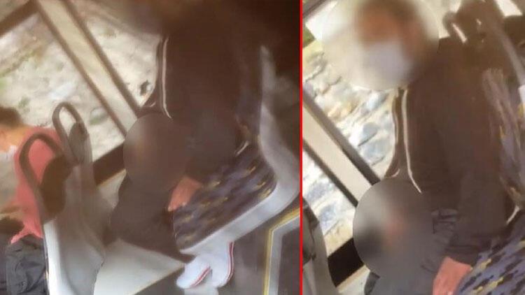 Son dakika haberi: İETT otobüsünde iğrenç olayı gerçekleştiren şüpheli gözaltında