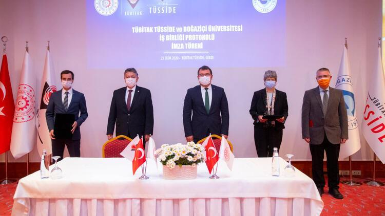 Boğaziçi Üniversitesi ve TÜBİTAK dijital dönüşüm için güçlerini birleştiriyor