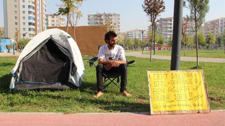4 yılda 51 şehri otostop çekerek gezip, 10 liraya dert dinledi