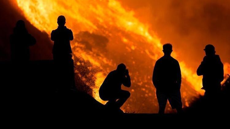 Son dakika haberi: ABD'de yangın kabusu bitmiyor! 100 binden fazla kişi için tahliye emri