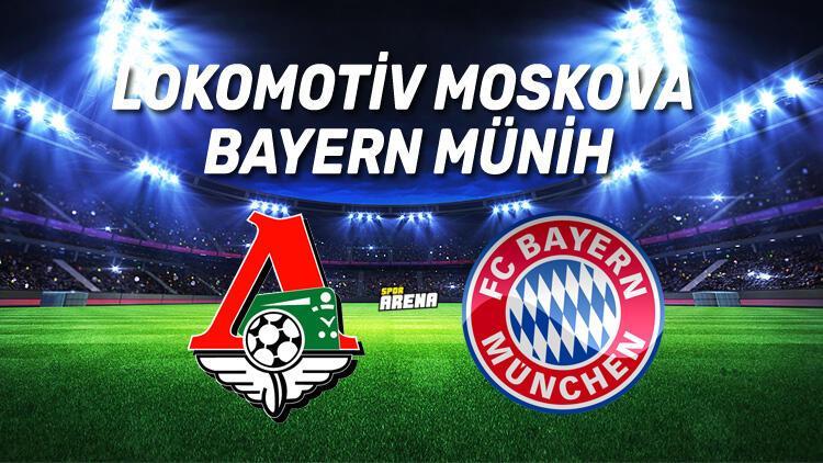 Lokomotiv Moskova Bayern Münih maçı saat kaçta hangi kanalda