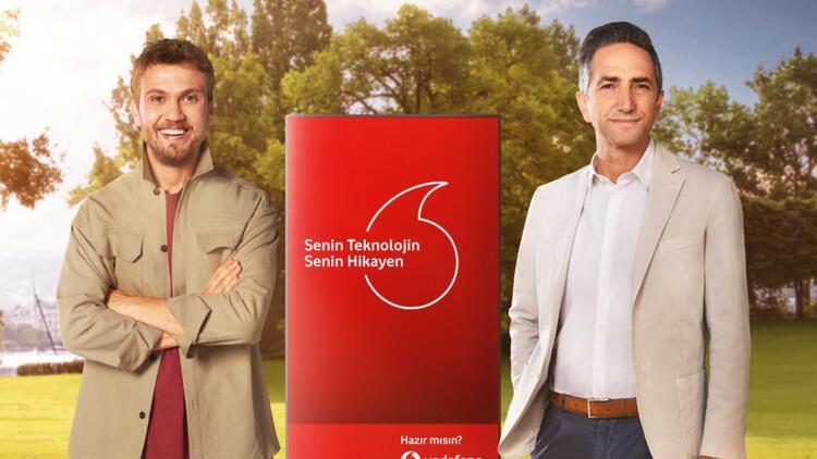 Aras Bulut İynemli, Vodafone'un reklam yüzü oldu