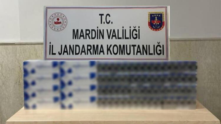 Mardin'de, 30 bin lira değerinde gümrük kaçağı sigara ele geçirildi