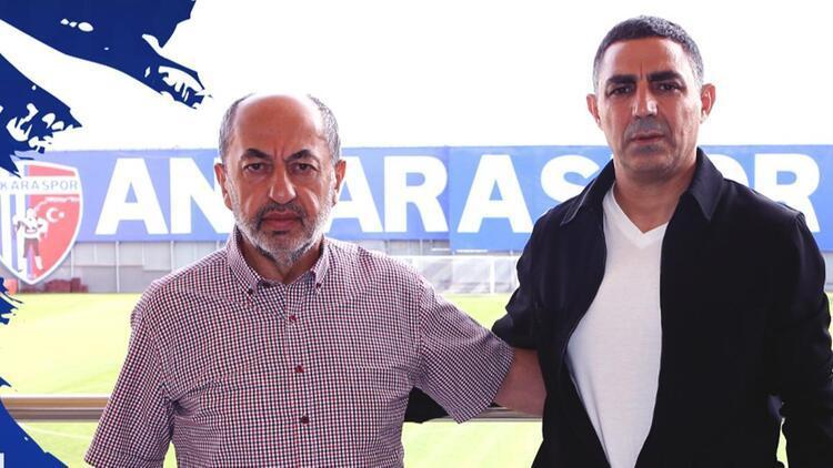 Ankarasporun yeni teknik direktörü Mustafa Özer oldu
