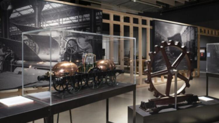 Rahmi M. Koç Müzesiden üç lokomotif Londra Bilim Müzesine misafir oldu