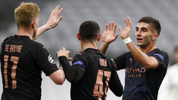 Marsilya 0-3 Manchester City (Maç sonucu ve özeti)