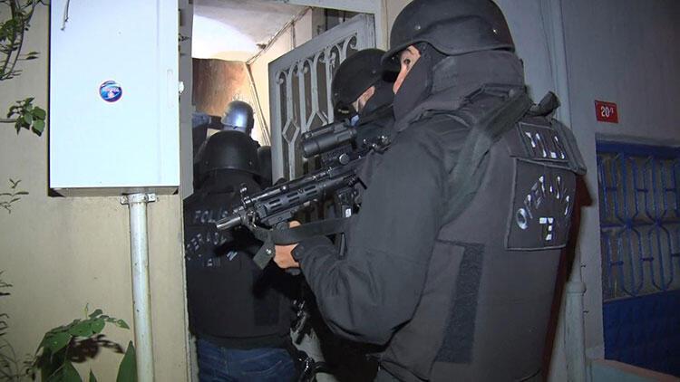 İstanbul'da PKK operasyonu! Çok sayıda gözaltı var