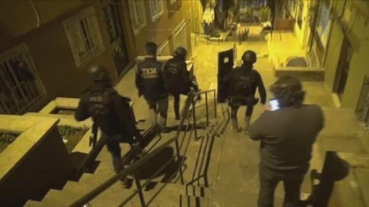 İstanbulda PKK operasyonu: 9 gözaltı