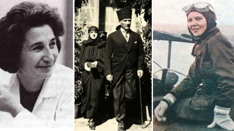 Cumhuriyetin Sembolü Haline Gelmiş Kadınlar