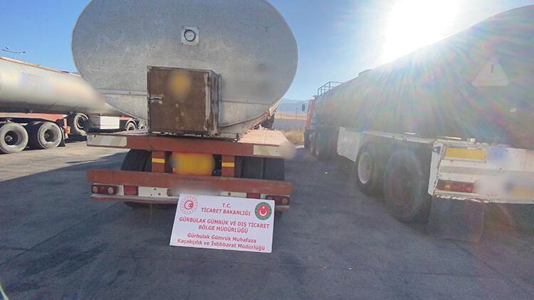 Gürbulakta 591 ton kaçak akaryakıt ele geçirildi