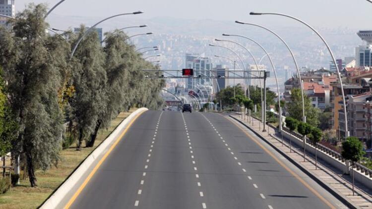 Başkent'te 29 Ekim'de bu yollar trafiğe kapalı