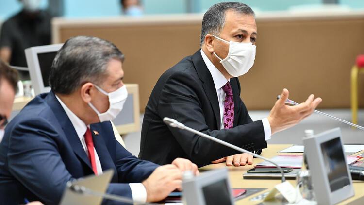 İstanbulda Sağlık Bakan Koca başkanlığında kritik toplantı