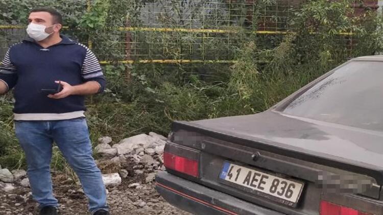 Evin önünden çalınan otomobilini, arkadaşları buldu