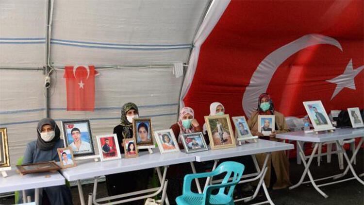 HDP önündeki eylemde 422'nci gün: Aile sayısı 154 oldu