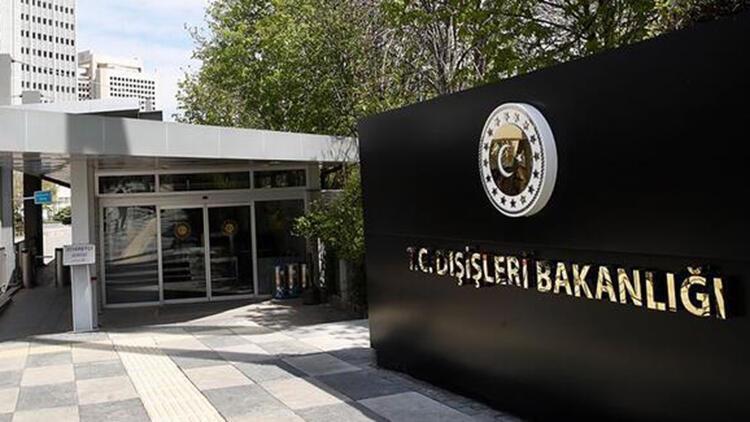Türkiye'den Beyrut'ta Ermeni grupların alçak eylemine kınama