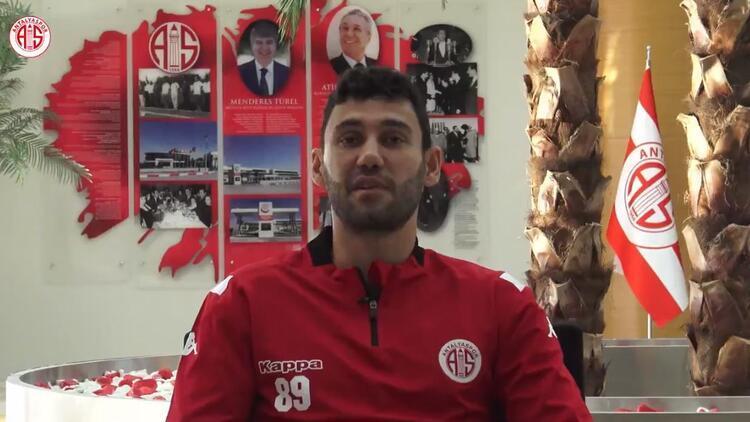 Antalyasporun futbolcusu Veysel Sarı: Sokakta futbol oynarken keşfedildim