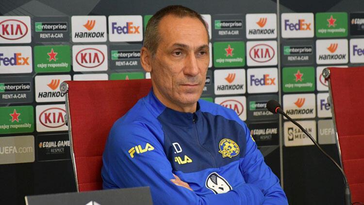 Maccabi Tel-Aviv Teknik Direktörü Giorgos Donisten Sivasspor yorumu