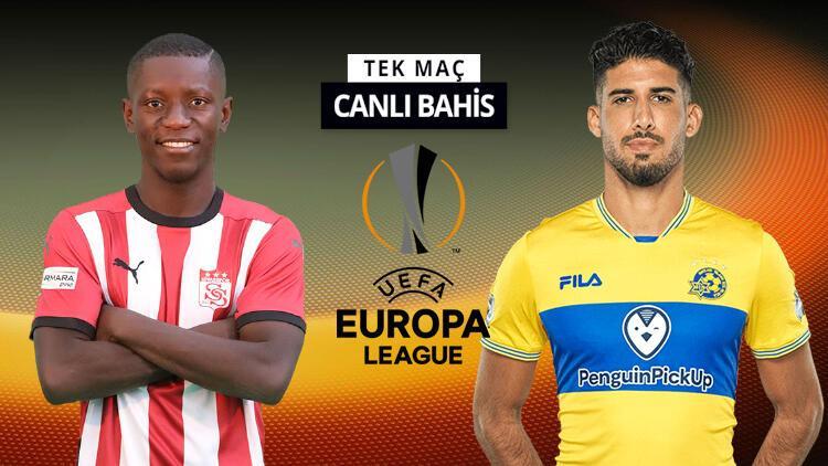 Sivassporun Avrupa Ligi maçında konuğu Maccabi Tel Aviv Banko iddaa tahmini...