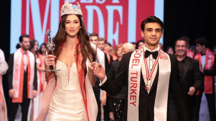 33. Best Model Türkiye birincileri Melisa İmrak ve Oğuzhan Bolat oldu