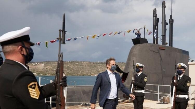Yunanistan Almanyadan 115 milyon euroya torpido tedariki alınacağını açıkladı