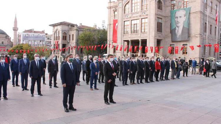 Aksaray'da 29 Ekim Cumhuriyet Bayramı kutlandı
