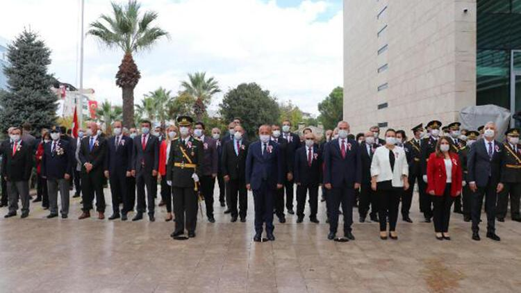 Denizli'de Cumhuriyet Bayramı kutlandı