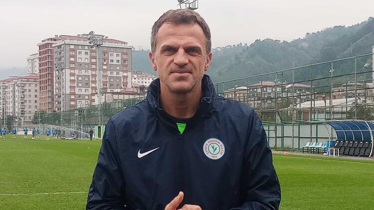 """Rizespor Teknik Direktörü Stjepan Tomas: """"Gözümüz üst sıralarda..."""""""