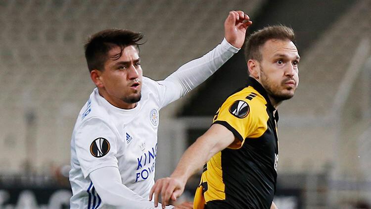 AEK Atina 1-2 Leicester City (Maçın özeti)