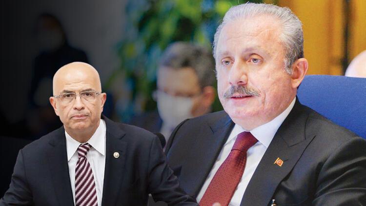 TBMM Başkanı Şentoptan Berberoğlu tepkisi: Ne yaptınız arkadaşınız için Hiç