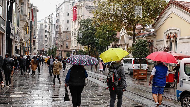 Son dakika haberleri... Meteoroloji uyarmıştı, İstanbulda beklenen yağış başladı