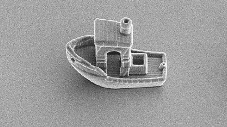 Hollandalı bilim insanları dünyanın en küçük teknesini üretti... Ne işe yaradığına inanamayacaksınız