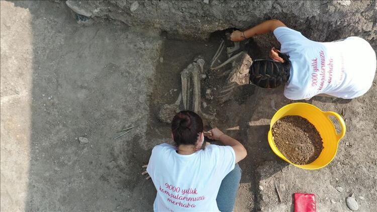 Bilecikte kazıda 8500 yıllık insan iskeleti bulundu