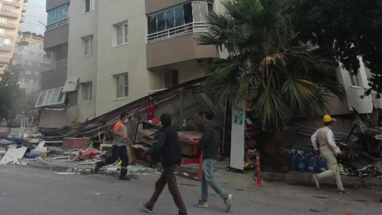 Son dakika... İzmir'de korkutan '20 kişi burada mahsur kaldı' iddiası
