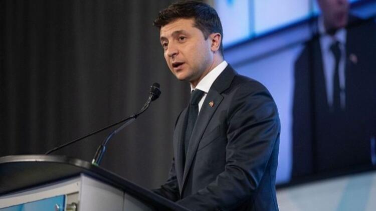 Ukrayna Devlet Başkanı Zelenskiyden Türkiyeye geçmiş olsun mesajı