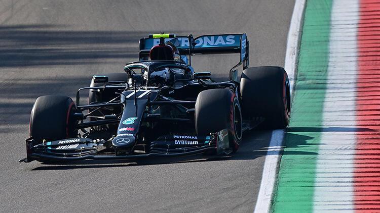 F1 Emilia-Romagna Grand Prixsinde pole pozisyonu Bottasın