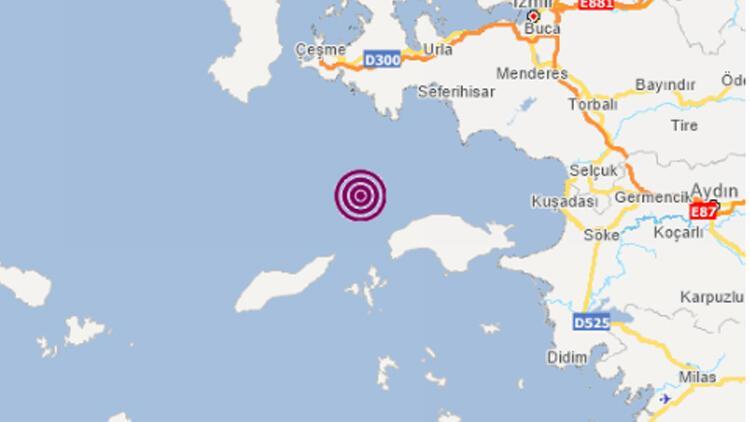 Son Dakika: İzmirin açıklarında deprem meydana geldi AFAD depremin büyüklüğünü açıkladı