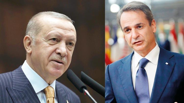Ankara-Atina hattında destek mesajları