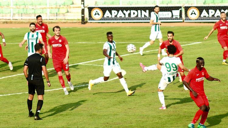 Giresunspor'un 5 maçlık yenilmezlik serisi sona erdi