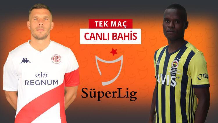 Antalyaspor'da Tamer Tuna gitti ve takımda 7 eksik var! Fenerbahçe'nin galibiyetine iddaa'da...
