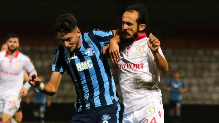 Adana Demirspor: 1 - Yılport Samsunspor: 1