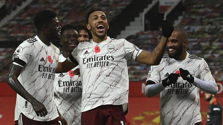 Arsenal, Manchester United'ı tek golle geçti