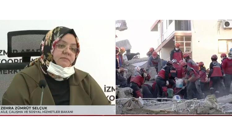 Son dakika... Bakan Selçuk'tan deprem bölgesinde açıklama: 5 milyon TL daha aktaracağız